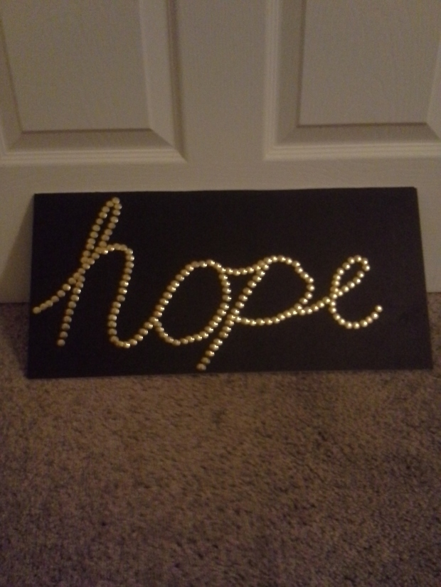 pin art hope