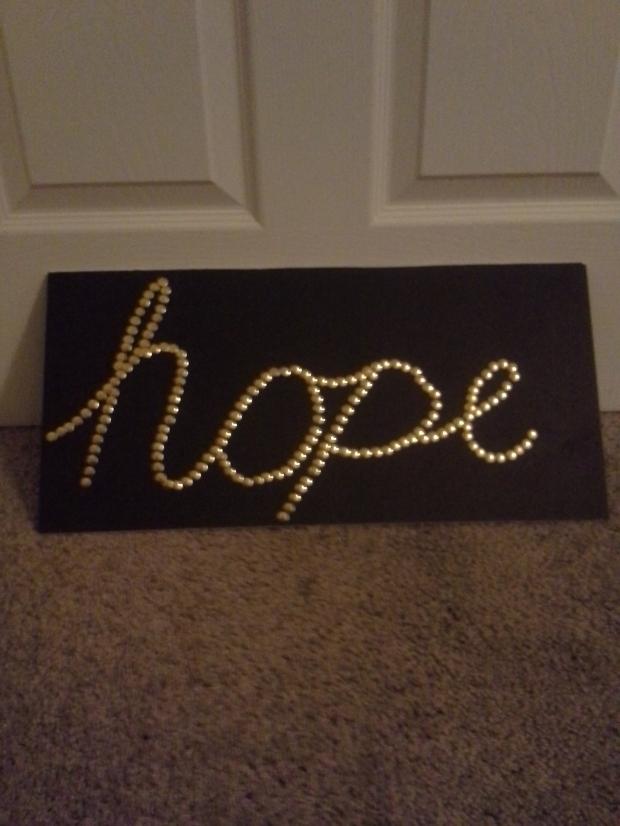 pin art hope