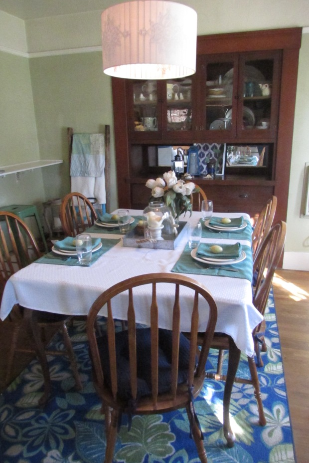 Spring Time Dining Room