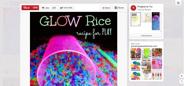 neon rice