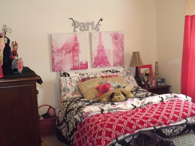 Parisian Room Decor