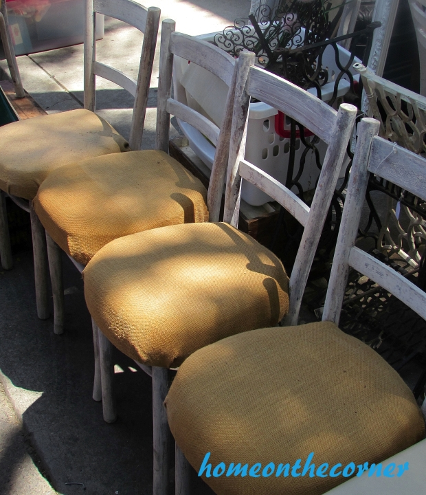 Wooden chairs for my patio.