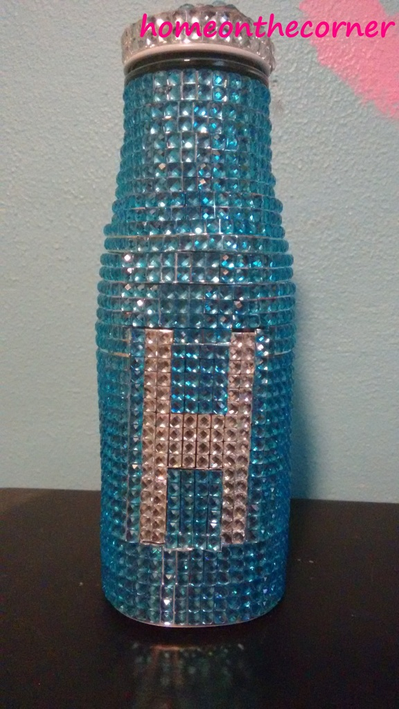 bejeweled bottle