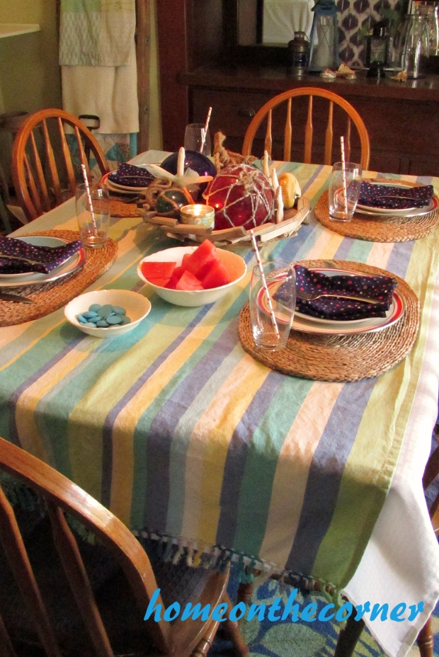 July tablescape