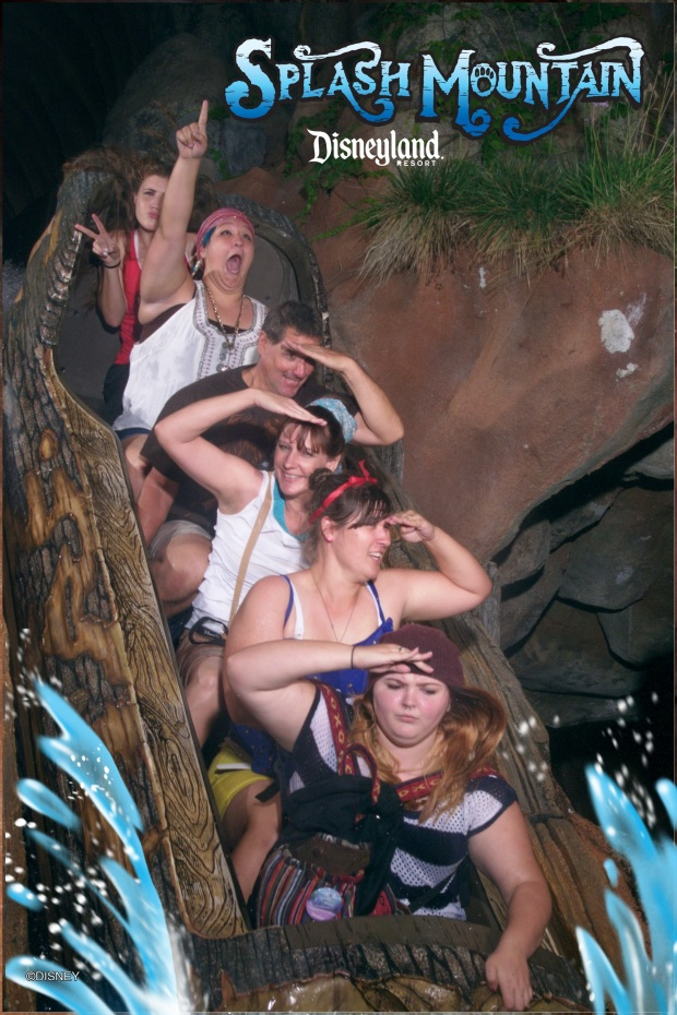 Splash Mountain Photo Disneyland