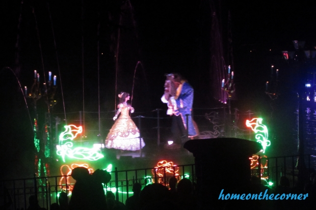 Beauty and the Beast Fantasmic Disneyland