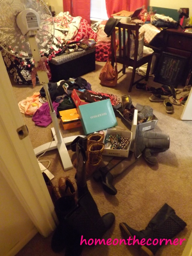 A Mess in my Room