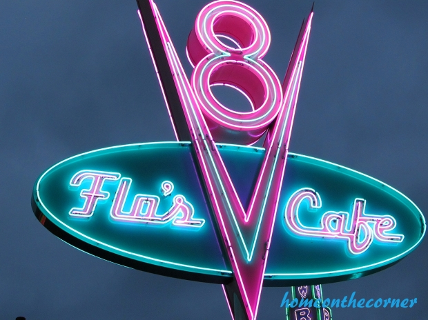 Flo's Cafe Ca. Adventure