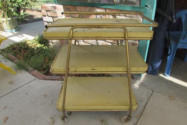 Vintage Beverage Cart