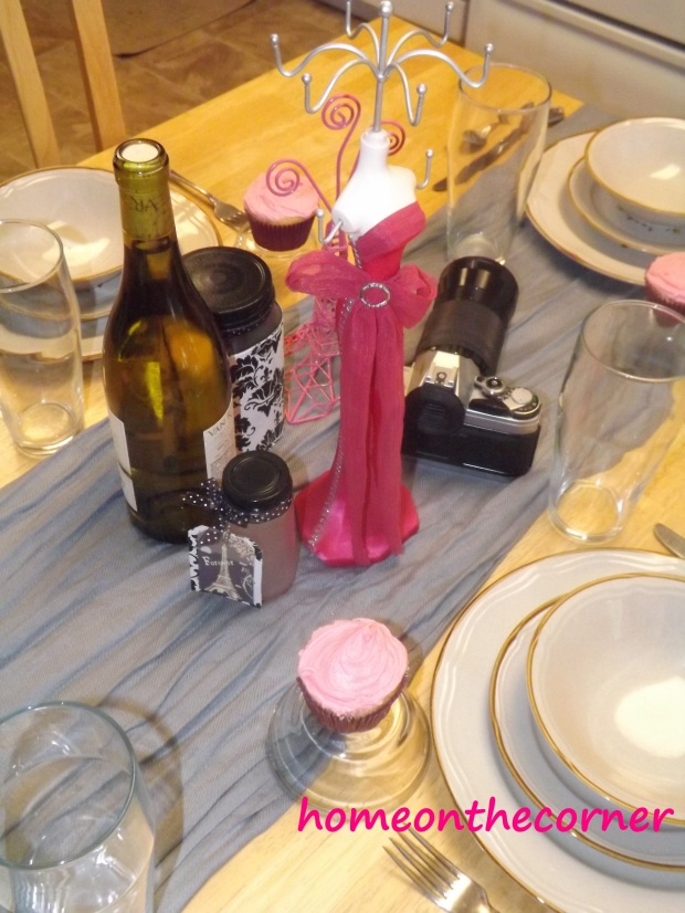 Parisian Tablescape