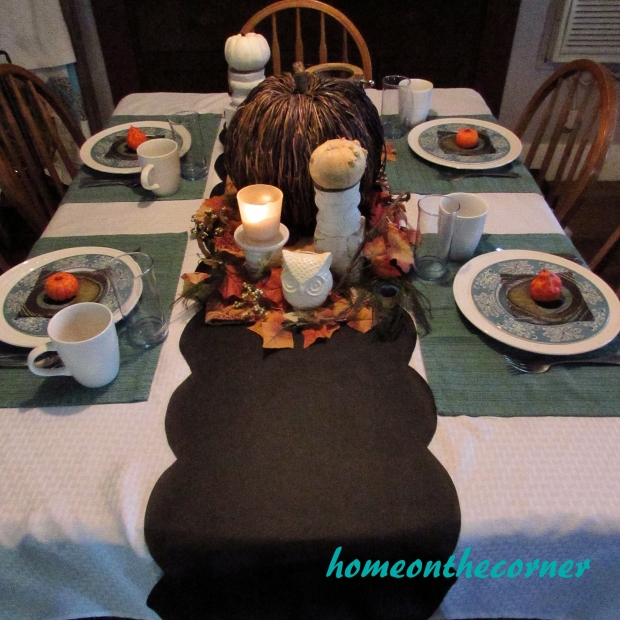 Fall Tablescape 2015