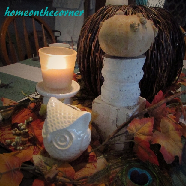 Fall Tablescape Centerpiece 2015