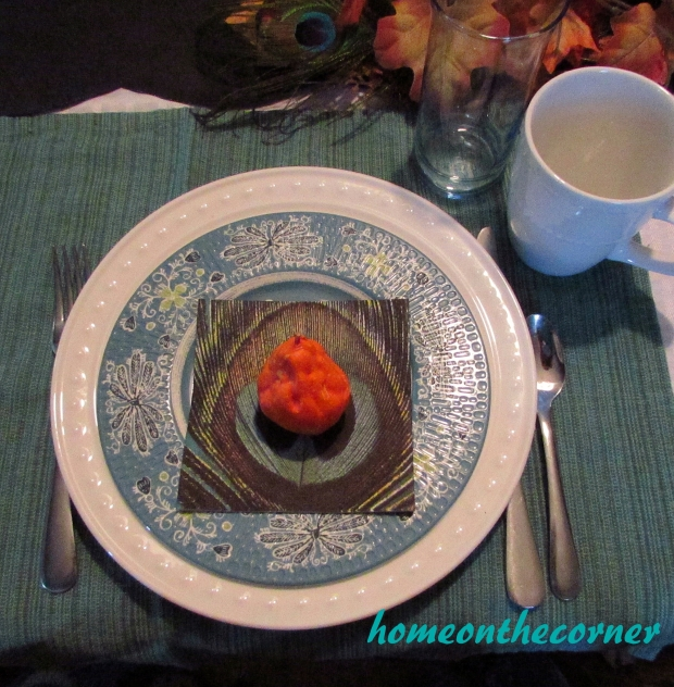 Fall Tablescape Placesetting 2015