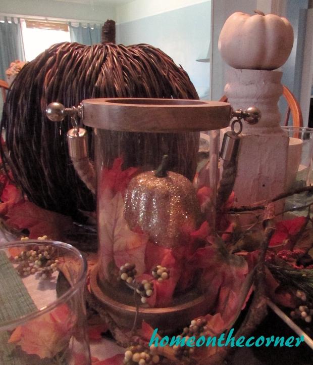Fall Tablescape Pumpkin 2015