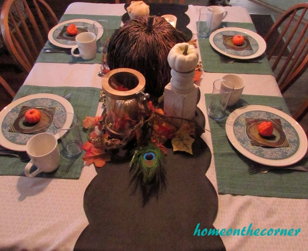 Fall Tablescape Table 2015