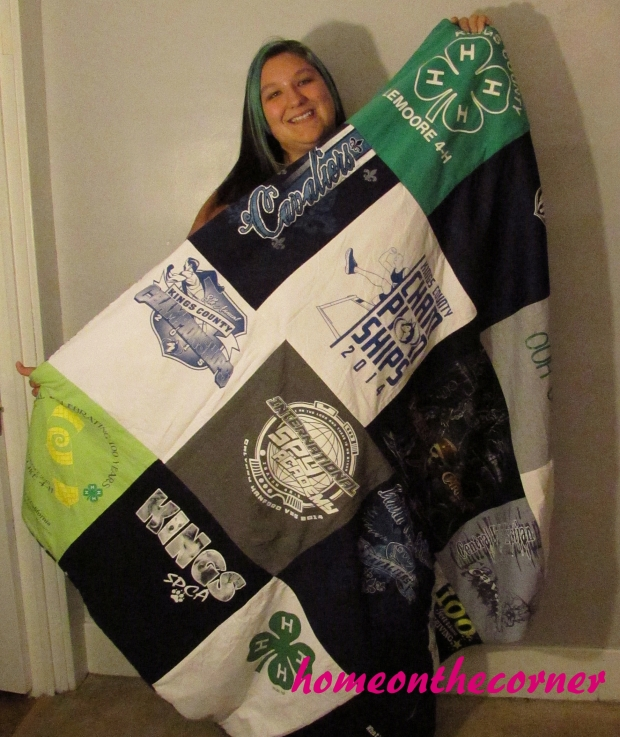 Haley's Tshirt Quilt