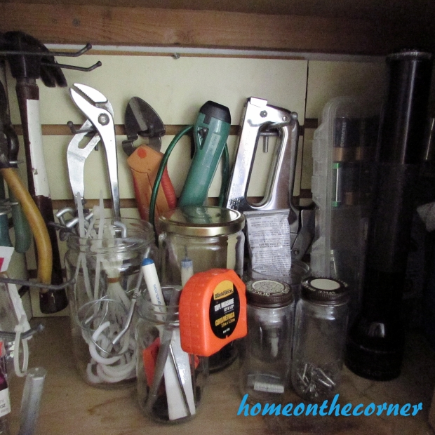 Organized Tool Cupboard
