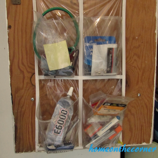 Tool Cupboard Door Organization