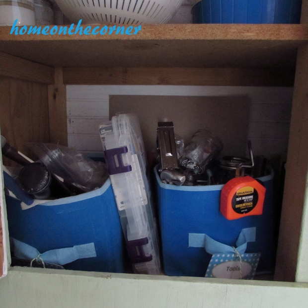 Tool Cupboard Organization