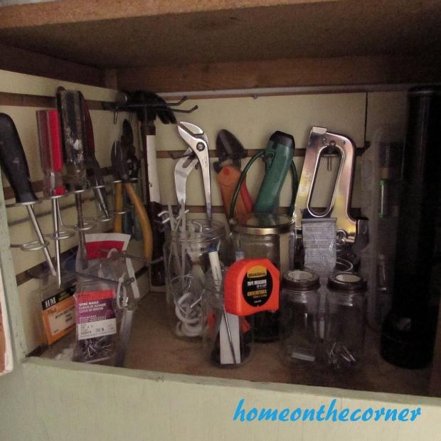 Tool Cupboard Organized