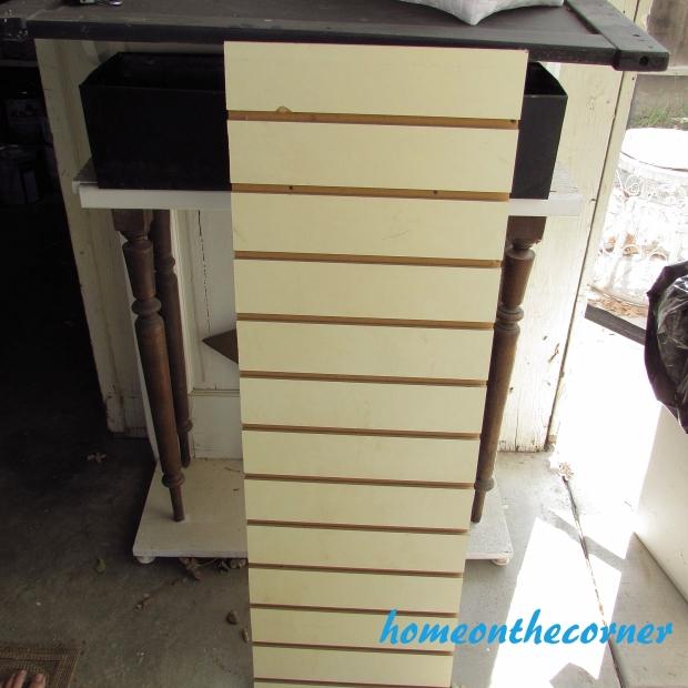Tool Cupboard Slat Board