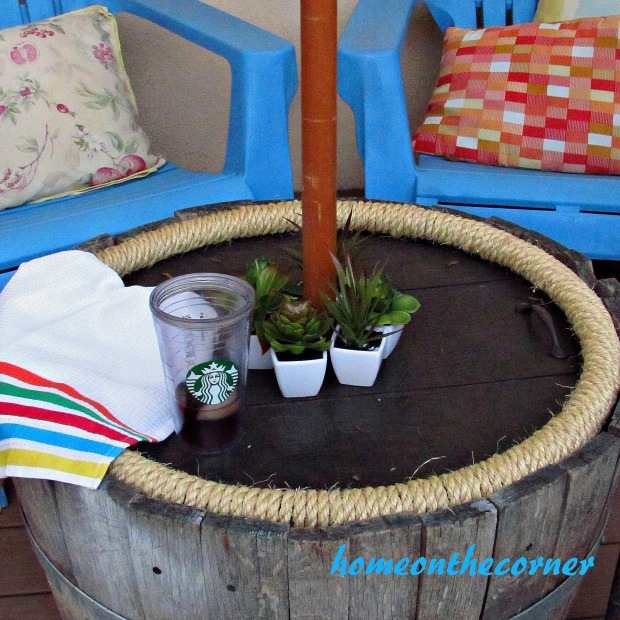 Transitional Back Porch Decor 2015