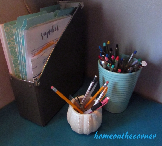 2015 Home Tour Desk Organization