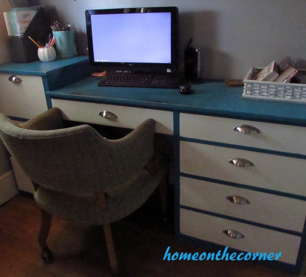 2015 Home Tour Fall Desk