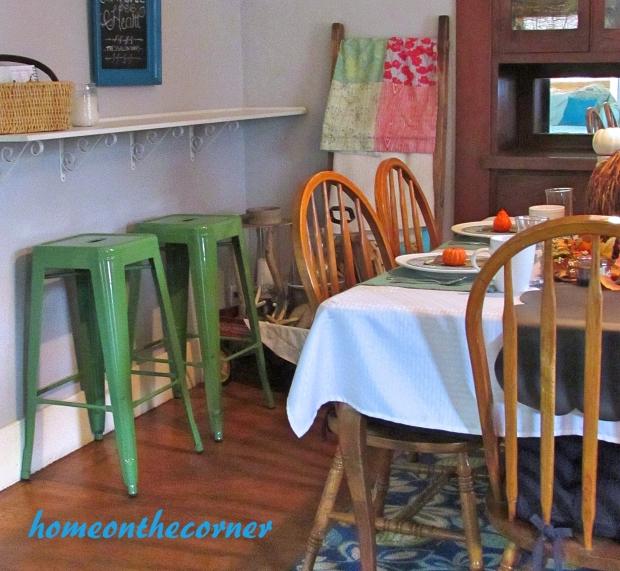 2015 Home Tour Fall Dining Room Bar