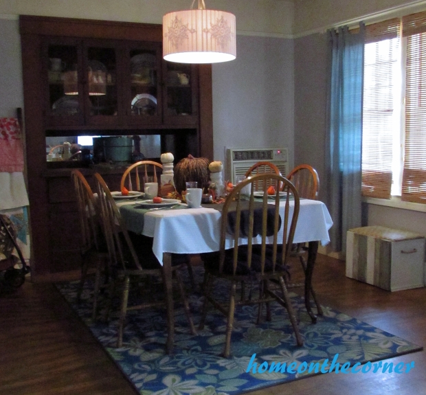 2015 Home Tour Fall Dining Room