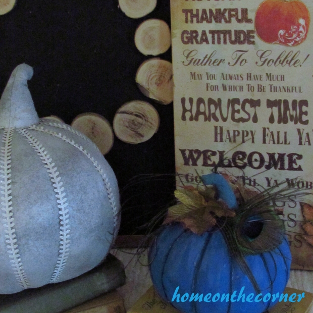 2015 Home Tour Fall Harvest Time Sign