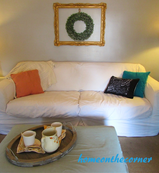 2015 Home Tour Fall Living Room Couch