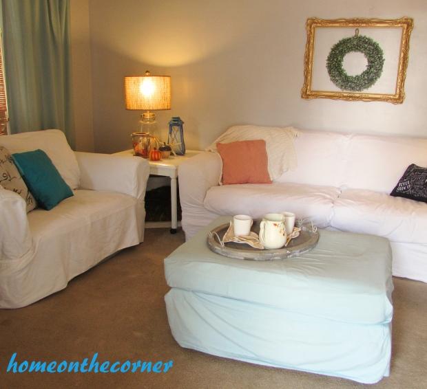 2015 Home Tour Fall Living Room