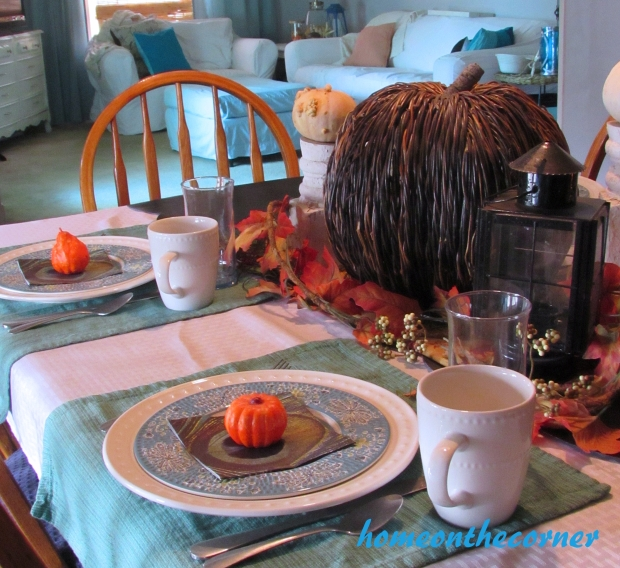 2015 Home Tour Fall Tablescape