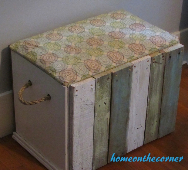 2015 Home Tour Wooden Box Makeover