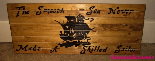 The Smooth Sea Never Made A Skilled Sailor