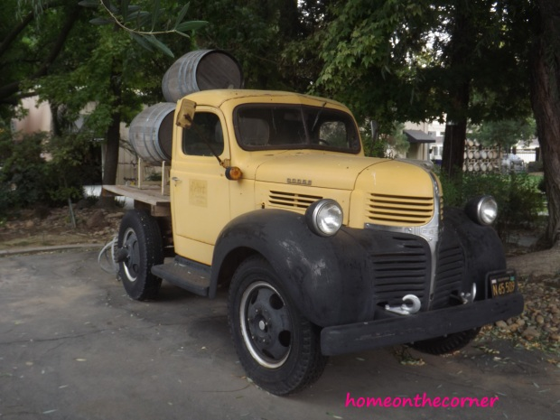 old fashion truck