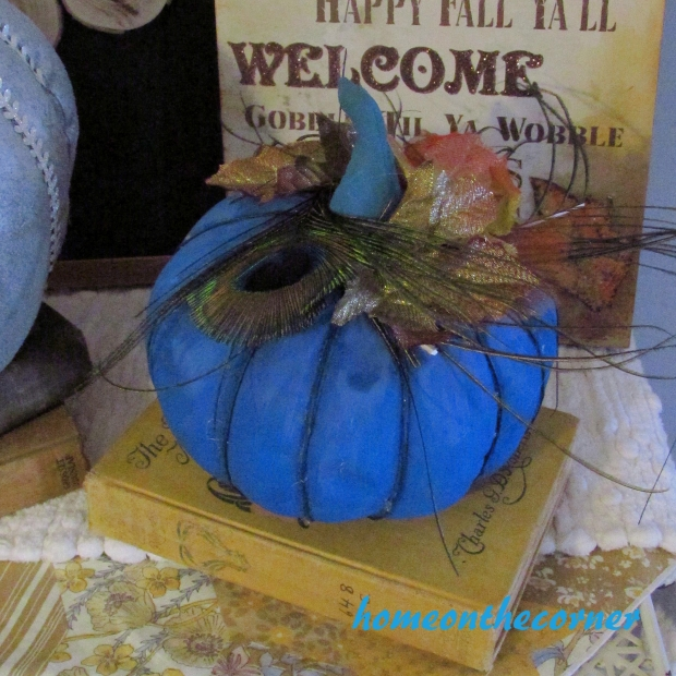 Fabric Pumpkin Makeover 2