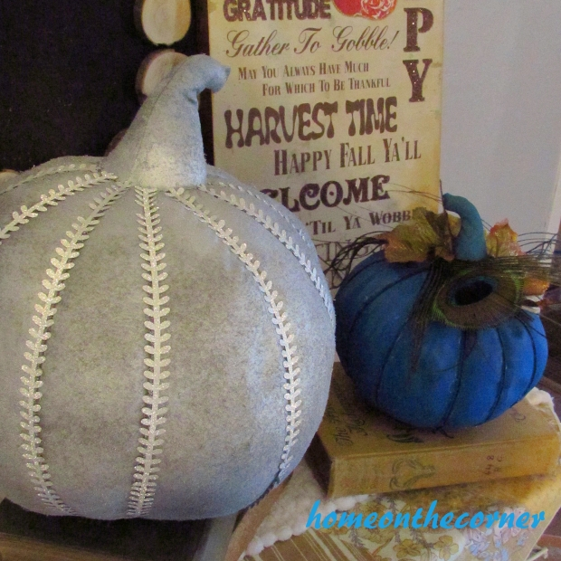 Fabric Pumpkin Makeover 4
