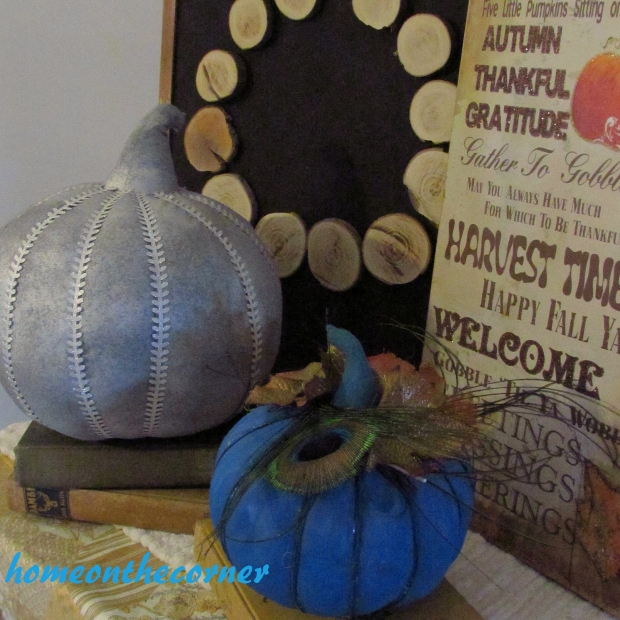 Fabric Pumpkin Makeover 5