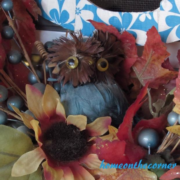 fall porch owl 2015