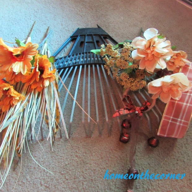 Fall Rake Dollar Tree Makeover