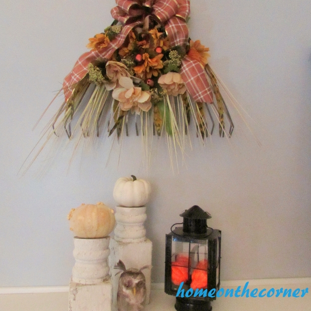 Fall Rake Makeover Dining Room