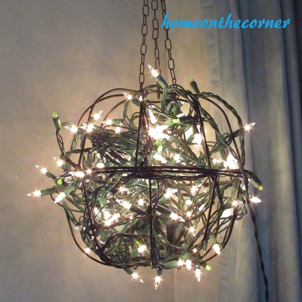 Outdoor Hanging Plant Light Porch