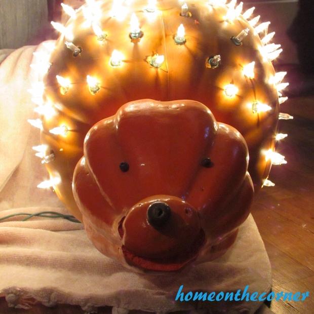 Hedghog Pumpkin