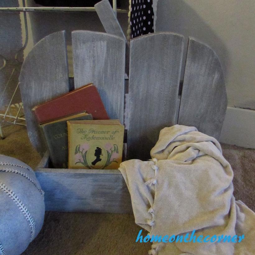Home Depot Pumpkin Blanket and Books