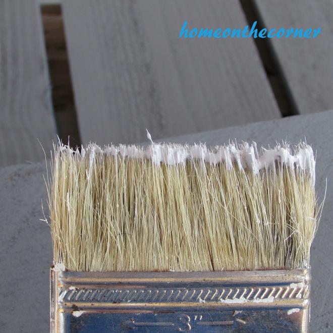 Home Depot Pumpkin Dry Brush Paint Brush