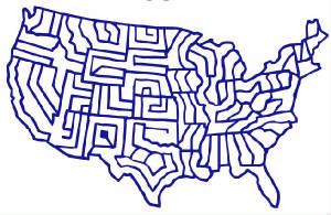 This is the corn maze map.  Picture comes from Vossler Farm's website