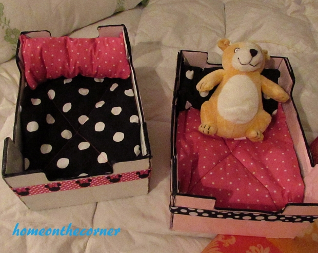 upcycle clementine box doll beds