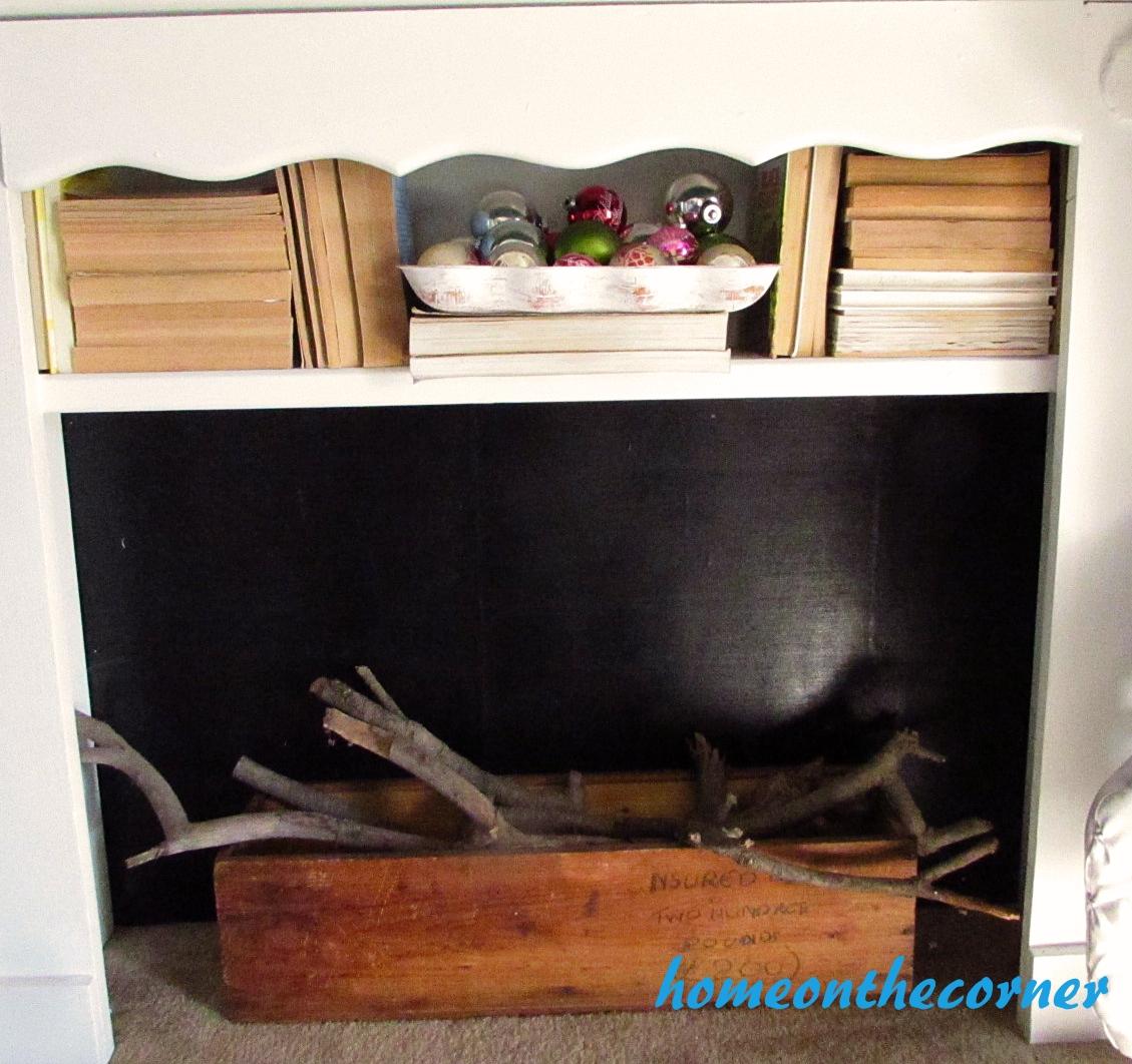 Christmas Fireplace Books